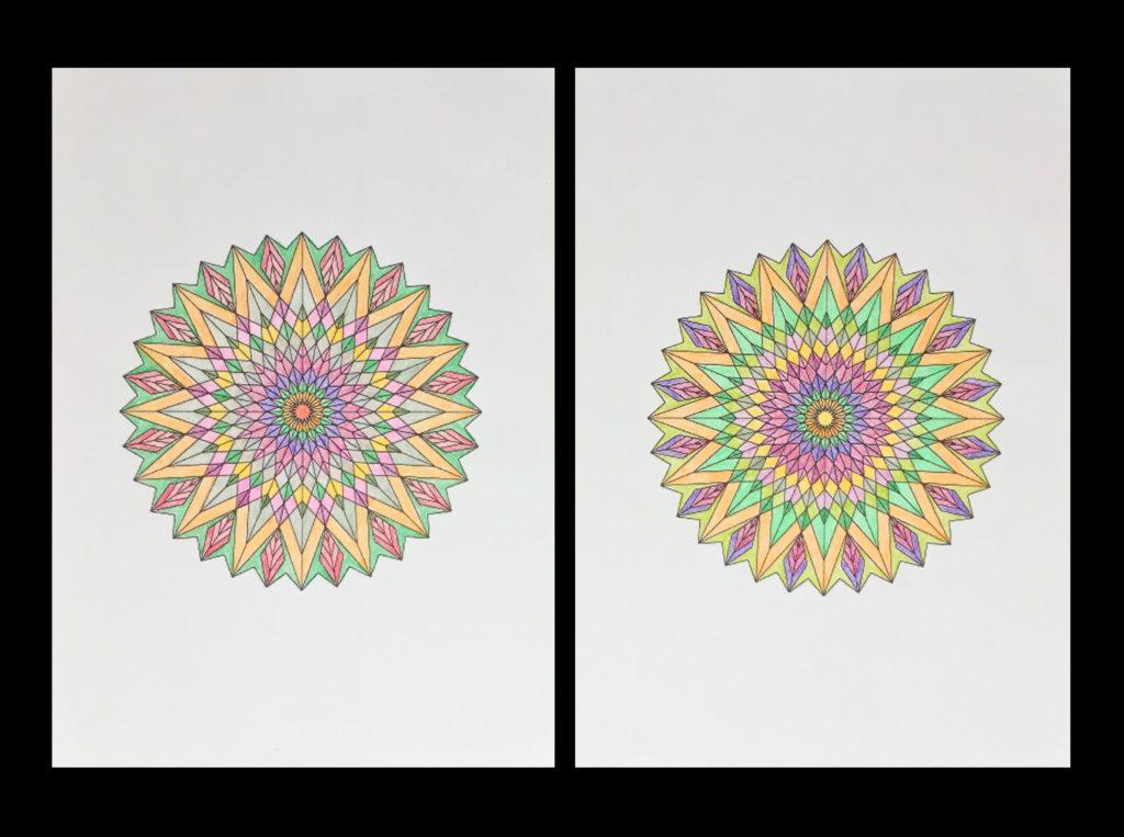 高齢者の塗り絵は脳トレに最適!塗り絵の種類から効果や道具をご紹介 塗り絵作品83歳11