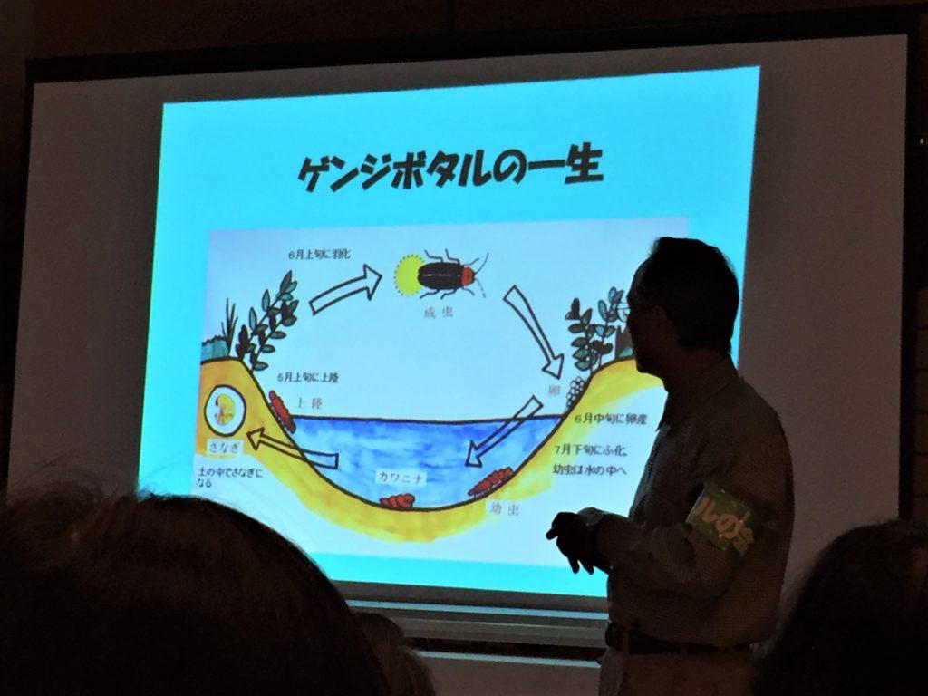石川県金沢のホタルの観賞時期・時間帯・おすすめスポット2020 白鳥路ホタルの夕べ2019 ホタル解説会