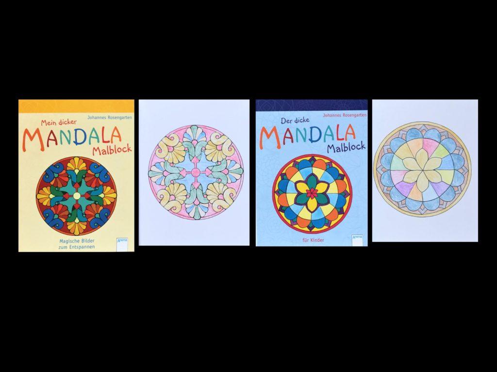 【初心者向け】大人の塗り絵の種類から塗り方やコツまでご紹介! 「Mandala-Malblock」A5サイズ