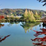【紅葉】石川・金沢兼六園の見頃・混雑時間・駐車場やライトアップ2019について 霞ヶ池 タイトル写真 新