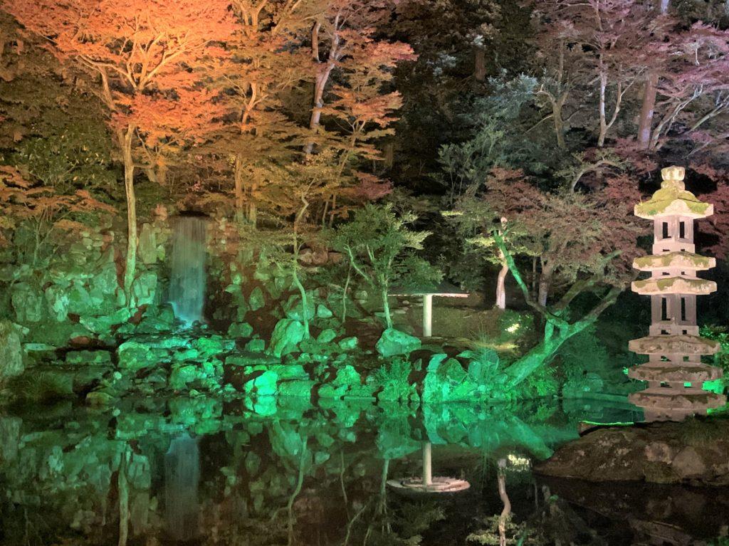 【紅葉】石川・金沢兼六園の見頃・混雑時間・駐車場やライトアップ2019について 2019瓢池ライトアップ