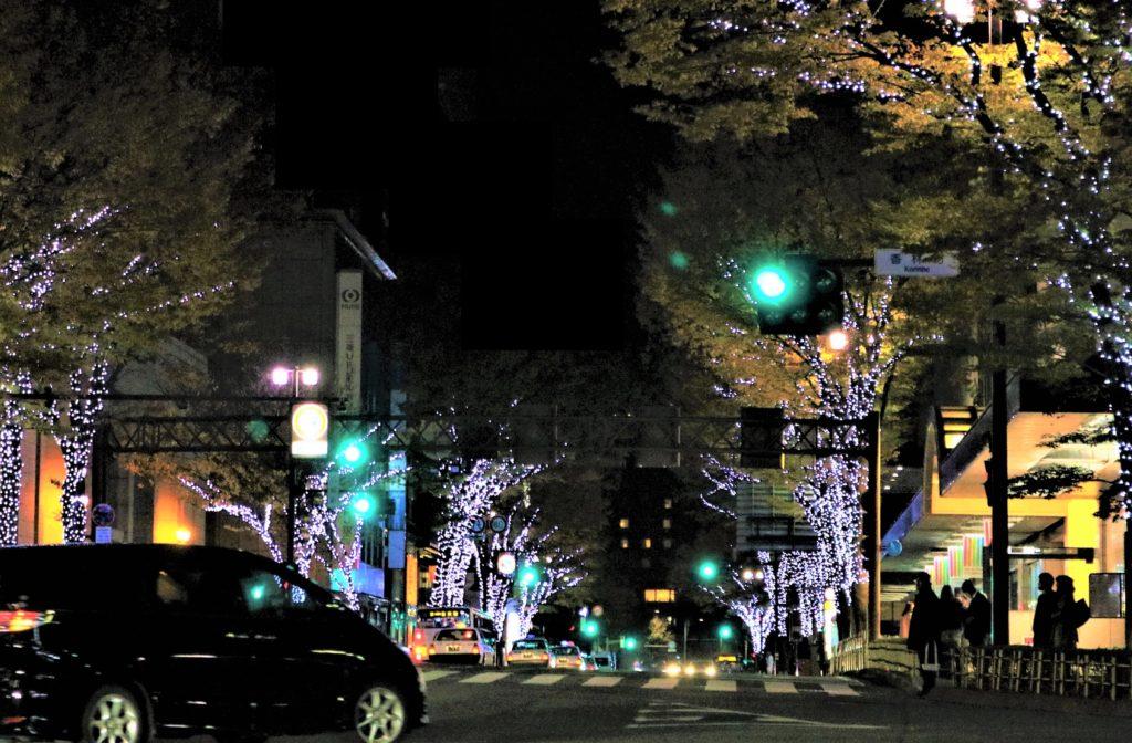 【紅葉】石川・金沢兼六園の見頃・混雑時間・駐車場やライトアップ2019について 香林坊ツリーファンタジー