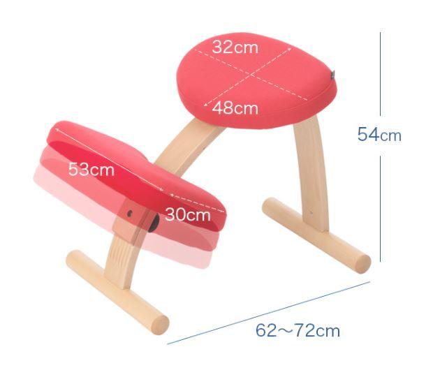 バランスイージー【バランスチェア】は姿勢が本当によくなる?子供が実際に使ってみた感想 バランスイージーのサイズ