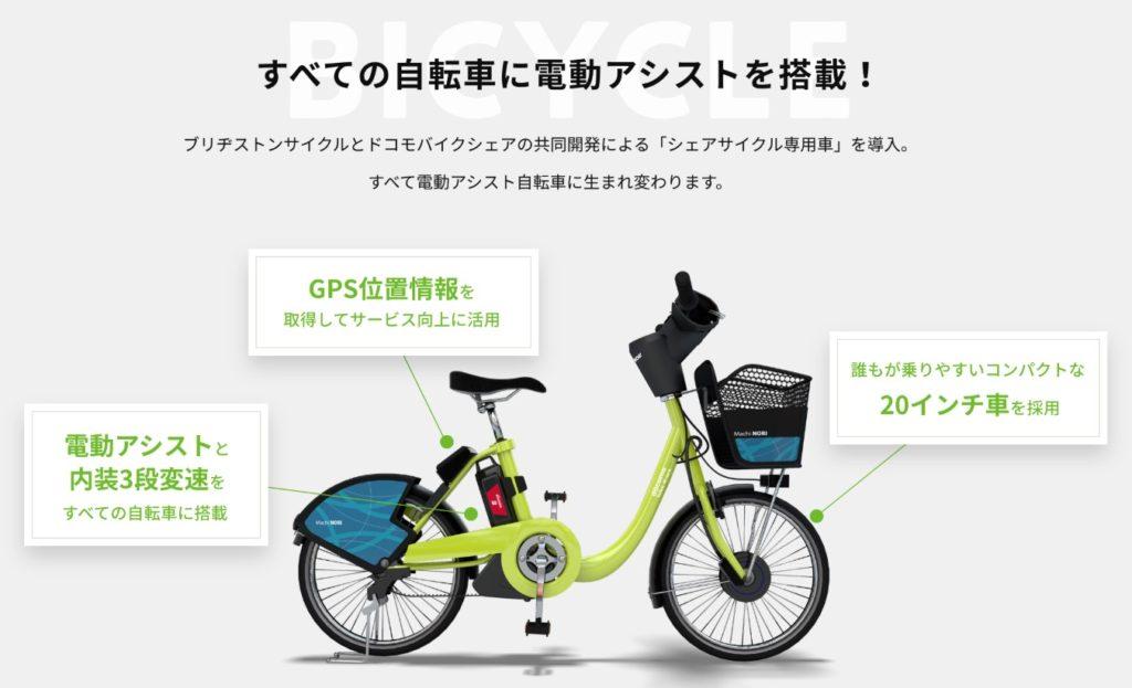 兼六園・金沢城公園など金沢観光には【バス】【自転車】がおすすめ! シェアサイクル専用車
