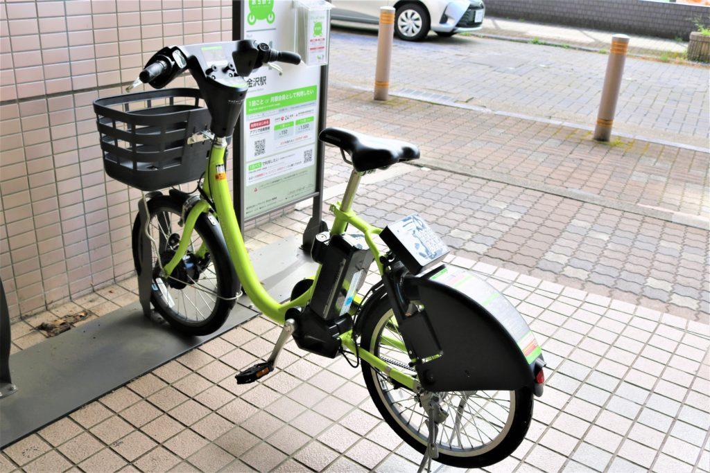 兼六園・金沢城公園など金沢観光には【バス】【自転車】がおすすめ! まちのり自転車