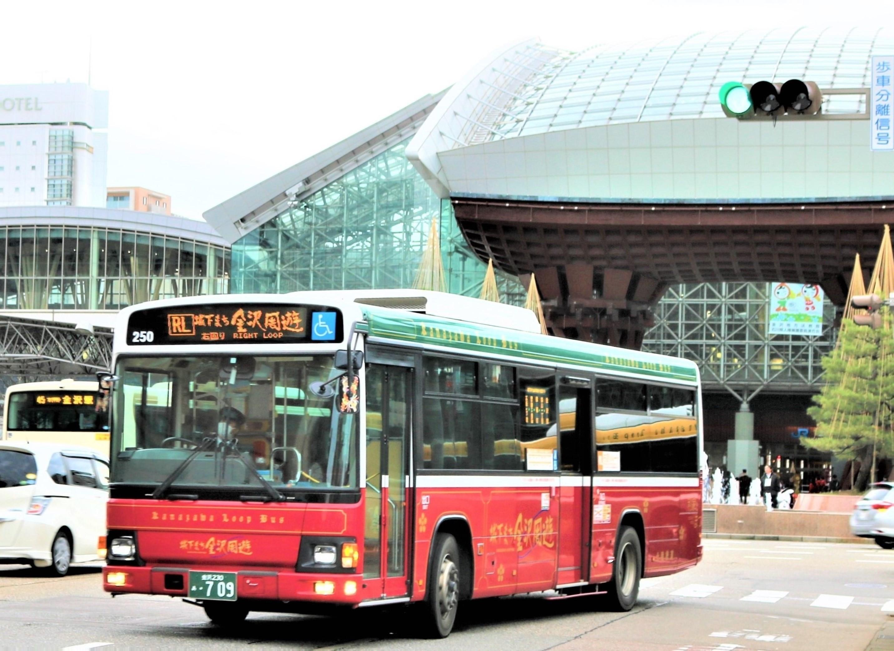 兼六園・金沢城公園など金沢観光には【バス】【自転車】がおすすめ! タイトル画像