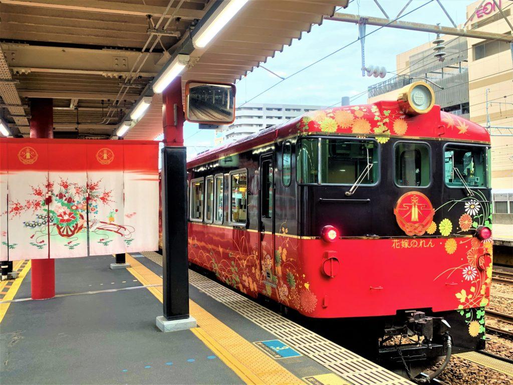 兼六園・金沢城公園など金沢観光には【バス】【自転車】がおすすめ! 観光列車「花嫁のれん」01