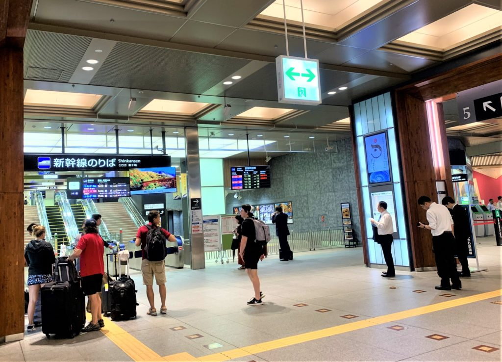 兼六園・金沢城公園など金沢観光には【バス】【自転車】がおすすめ! JR金沢駅 新幹線のりば