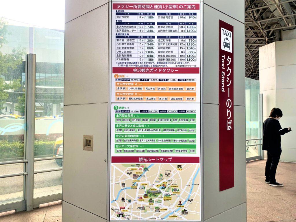 兼六園・金沢城公園など金沢観光には【バス】【自転車】がおすすめ! 金沢駅 兼六園口(東口)から目的地までの所要時間と運賃の目安