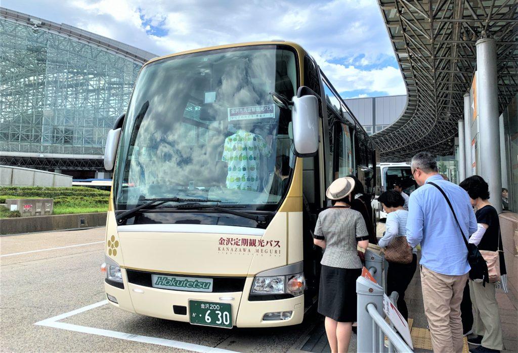 兼六園・金沢城公園など金沢観光には【バス】【自転車】がおすすめ! か なざわめぐり半日コース01